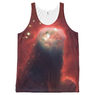 Cone Nebula in space NGC 2264 All-Over-Print Tank Top