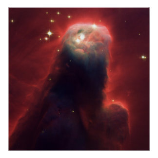 Cone Nebula (NGC 2264)-Star-Forming Pillar of Gas Poster