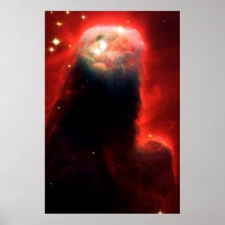 Cone Nebula Poster