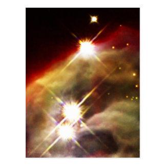 Cone Nebula starry night Postcard