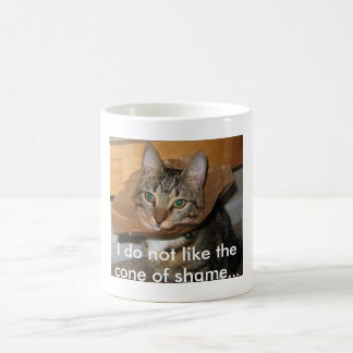 Cone of Shame Coffee Mug