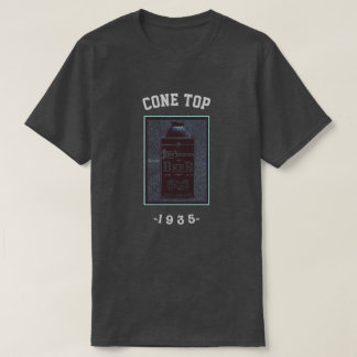 Cone Top-1935- Blue/Black T-Shirt