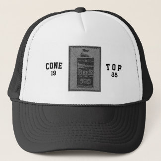 Cone Top-1935-Blue/Grey Trucker Hat