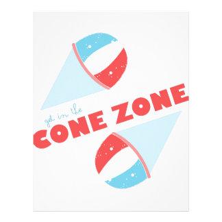 Cone Zone Letterhead