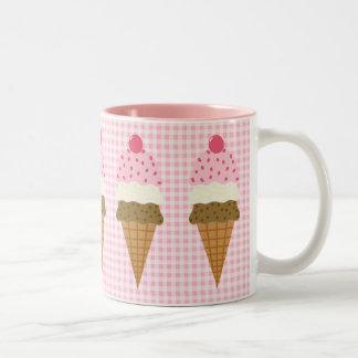 Cone Zone Two-Tone Coffee Mug