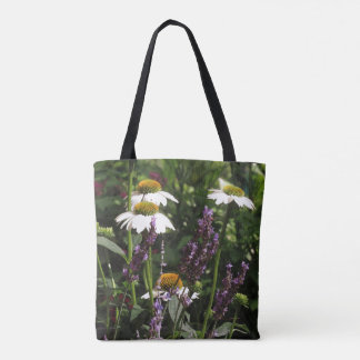 Coneflower Echinacea Flowers Floral Tote Bag
