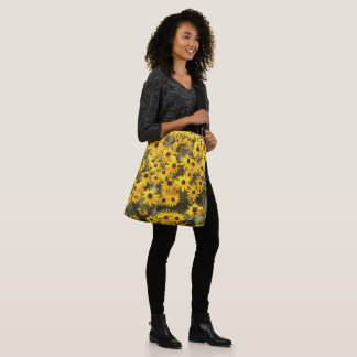 Coneflower Flowers Photography Shoulder Bag Tote