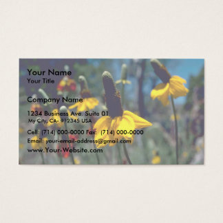 Coneflowers Business Card