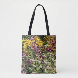 Coneflowers!  Echinacea Black-eyed-susans Tote Bag
