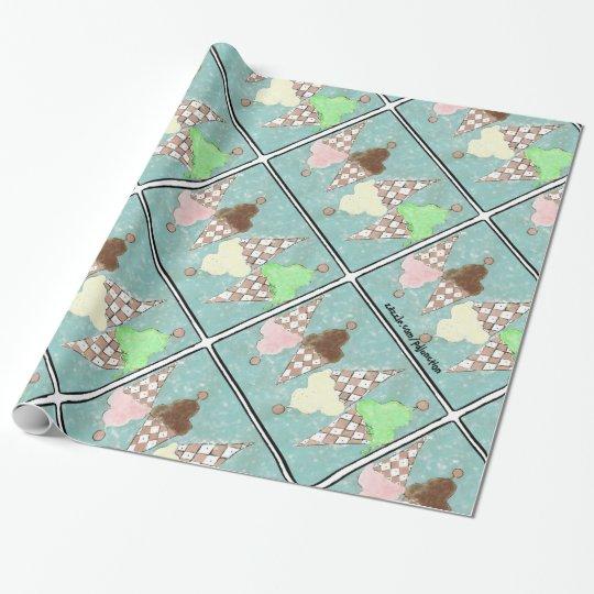 Conehead Heaven Ice Cream wrapping paper!