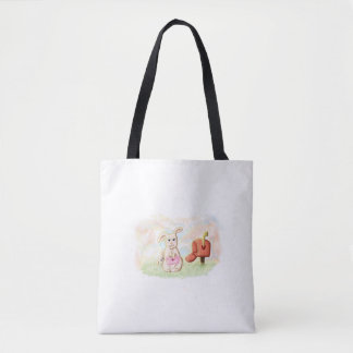 conejito purse tender love san Valentin Tote Bag