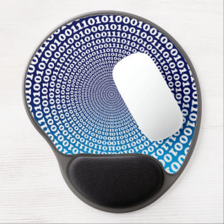 Conentric Binary Gel Mouse Pad