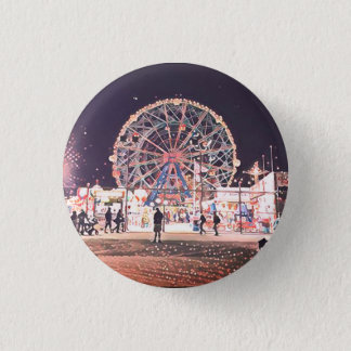 Coney Island Amusement 1 Inch Round Button
