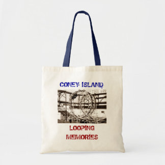 Coney Island Antique View Looping Roller Coaster