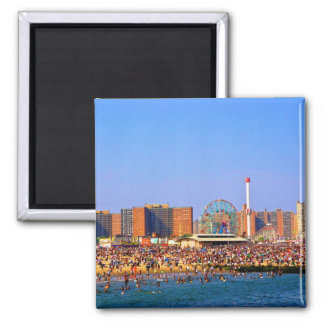 Coney Island beach - NYC magnet