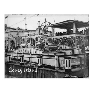 Coney Island Cake Walk Postcard Vintage Picture