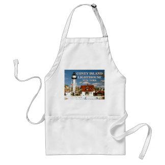 Coney Island Lighthouse, New York Standard Apron
