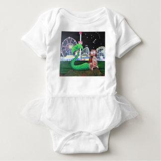 Coney Island Mermaid Baby Bodysuit