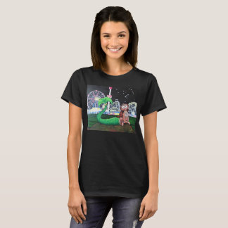 Coney Island Mermaid Ladies' Cut Dark Color T-Shirt