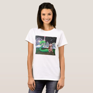 Coney Island Mermaid Ladies' Cut T-Shirt