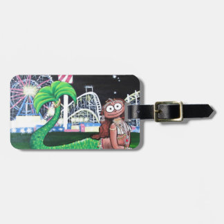 Coney Island Mermaid Luggage Tag