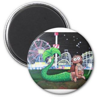 Coney Island Mermaid Magnet