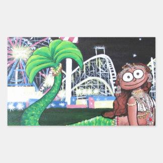 Coney Island Mermaid Sticker