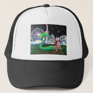 Coney Island Mermaid Trucker Hat