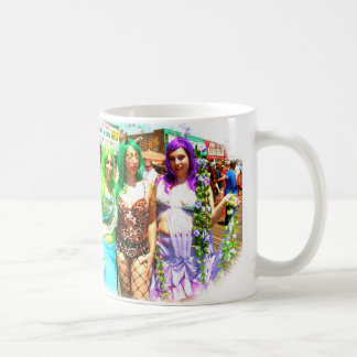 Coney Island Mermaids Coffee Mug