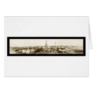 Coney Island New York Photo 1907 Card