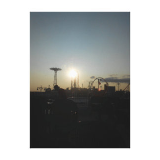 Coney Island, New York USA Canvas Print