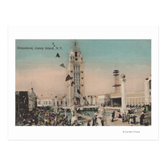 Coney Island, NY - Dreamland Ride Postcard