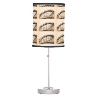 Coney Island Roller Coaster Table Lamp