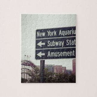 Coney Island Sign Puzzles