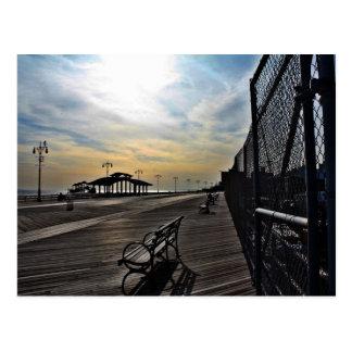 coney island summer postcard