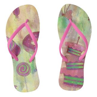Confectionery Flip Flops