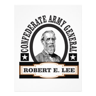 confederate army general lee personalized letterhead