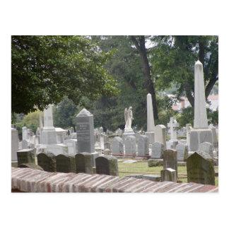 Confederate Cemetery Fredericksburg VA Postcard