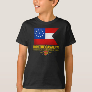 Confederate First National Cavalry Guidon T-Shirt