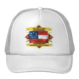 Confederate First National Trucker Hat