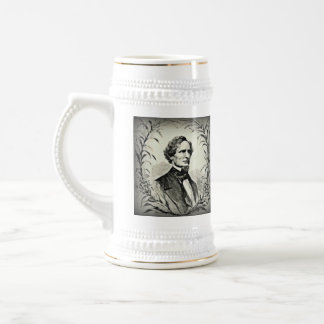 Confederate President Jefferson Davis Beer Stein
