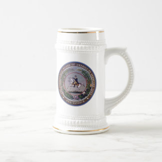 Confederate Seal 4 Beer Stein