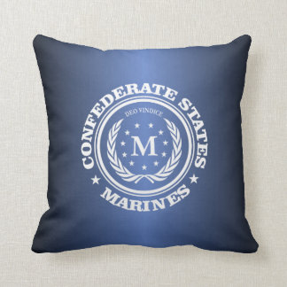 Confederate States Marines Throw Pillow