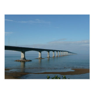 Confederation bridge postcard