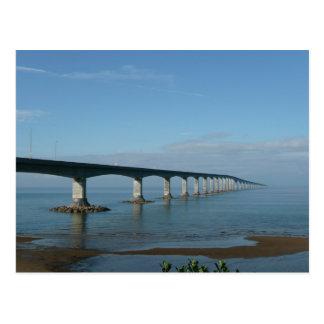 Confederation bridge postcard
