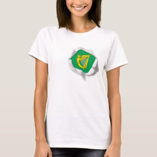 Confederation of Ireland Harp Flag True Colors T-Shirt