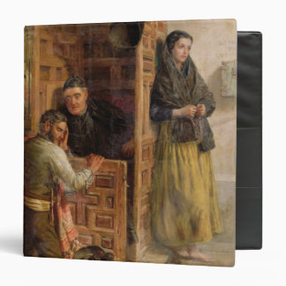 Confession, 1862 (oil on canvas) 3 ring binders