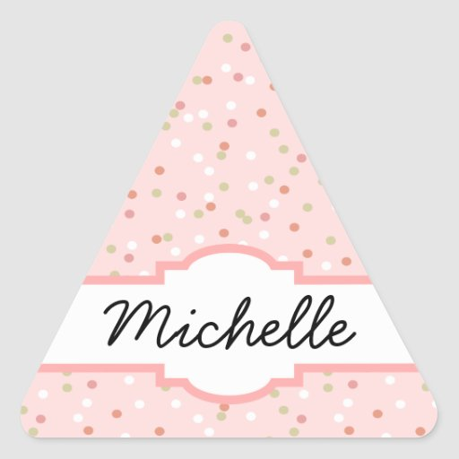 Confetti Cake • Pink Buttercream Frosting Sticker