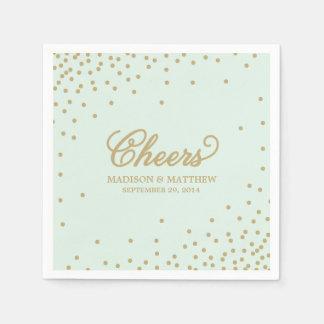 Confetti Cheers | Personalized Paper Napkins