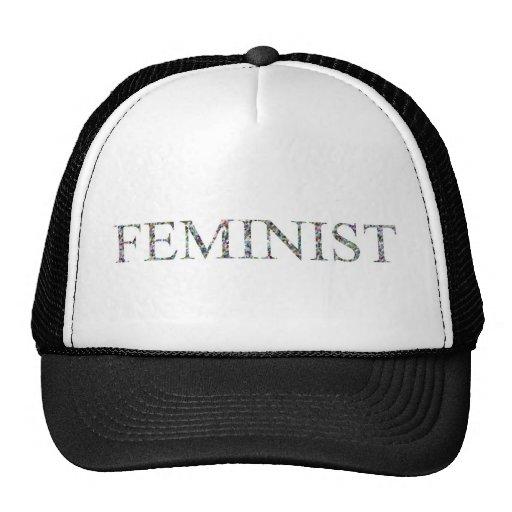 Confetti Feminist.jpg Mesh Hat